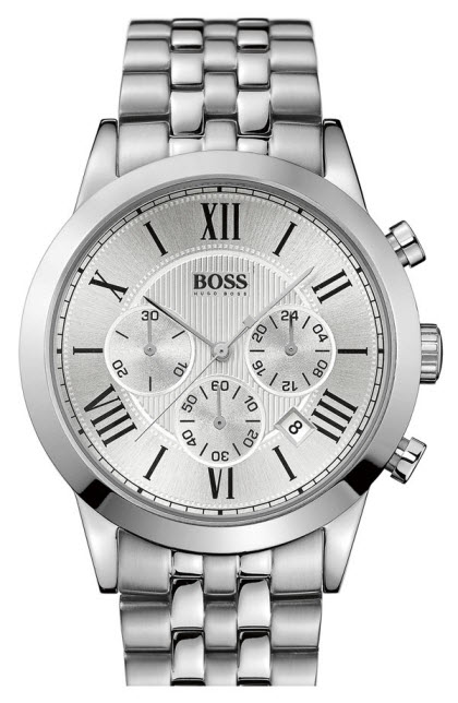 BOSS Black Round Chronograph Bracelet Watch