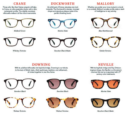 Warby Parker Holiday Collection